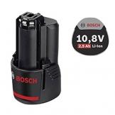 Bosch Professional GBA 10,8 V 2,5 Ah Akku, 1600A004ZL -