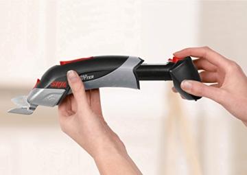 Skil Akku-Universalschneider 2900 AJ, Ladegerät, Scherenkopf, Karton (4,8 V, Clic-Wechselsystem) -