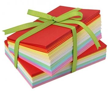 100tlg. Kartenset je 50 Karten & Umschläge farbig A6 & C6 VBS Großhandelspackung - 2