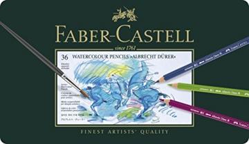 Faber-Castell 117536 - Aquarellstifte Albrecht Dürer, 36er Metalletui - 1