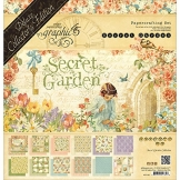 Graphic 45 4501421 Secret Garden Deluxe Collector 's Edition Kunst und Craft Produkt - 1