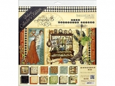 "Graphic 45 Deluxe Collector's Edition Pack 12""X12""-Olde Curiosity Shoppe - 1"