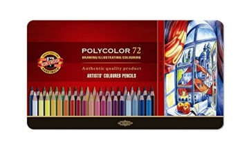 KOH-I-NOOR Polycolor Künstler-Farbstifte (72 Stück) - 1