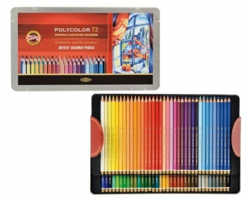KOH-I-NOOR Polycolor Künstler-Farbstifte (72 Stück) - 3